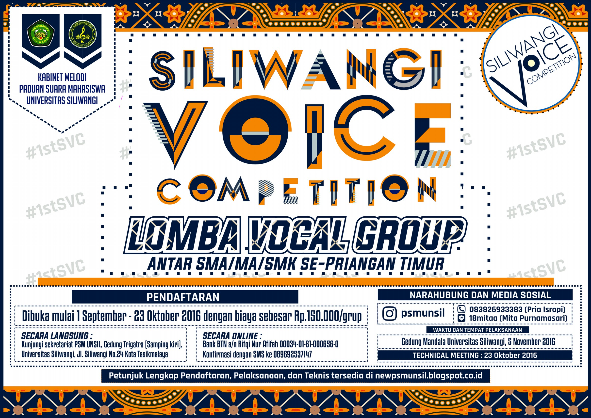 Siliwangi Voice Competition!
