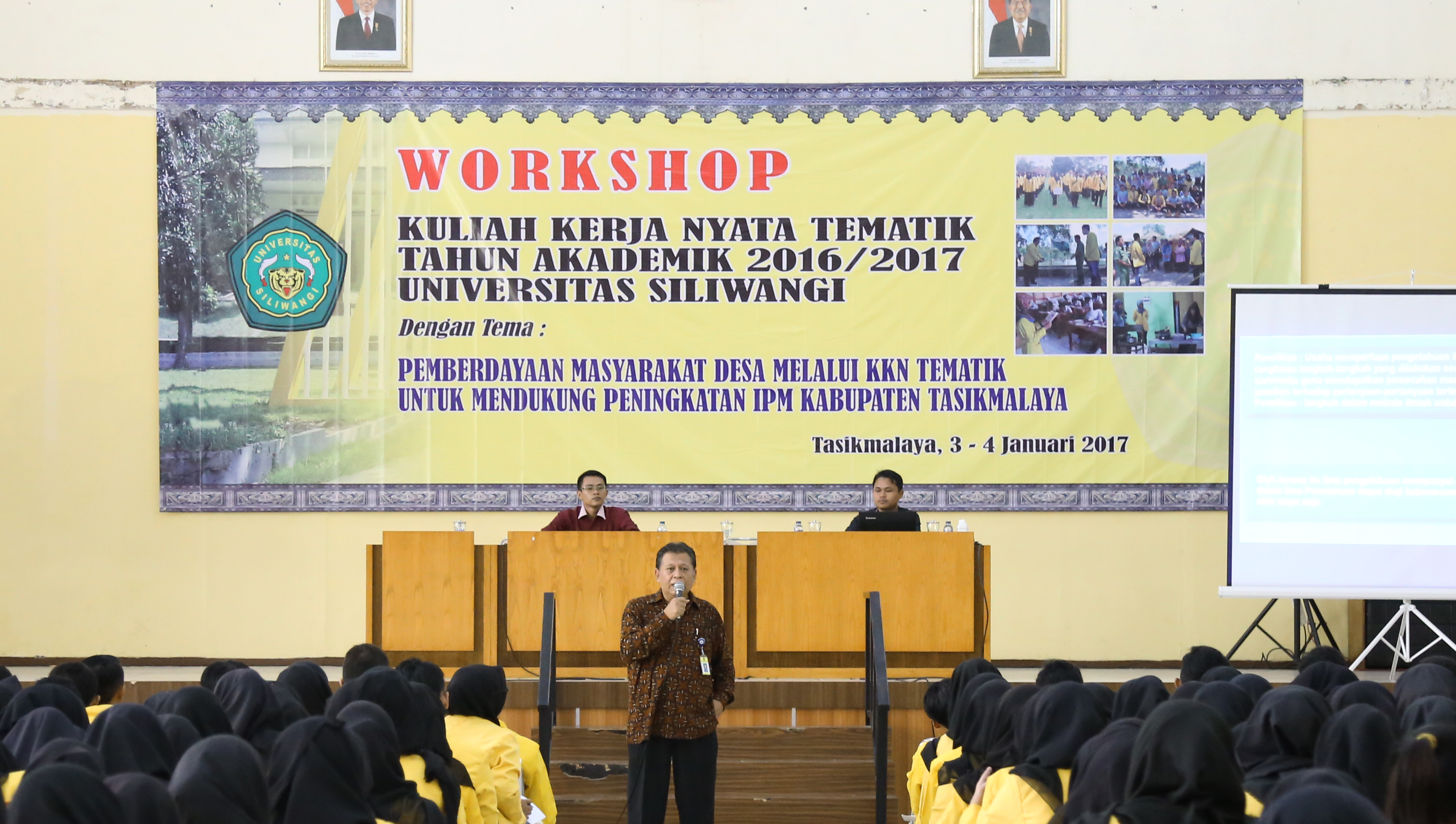 Workshop Calon Peserta KKN Universitas Siliwangi