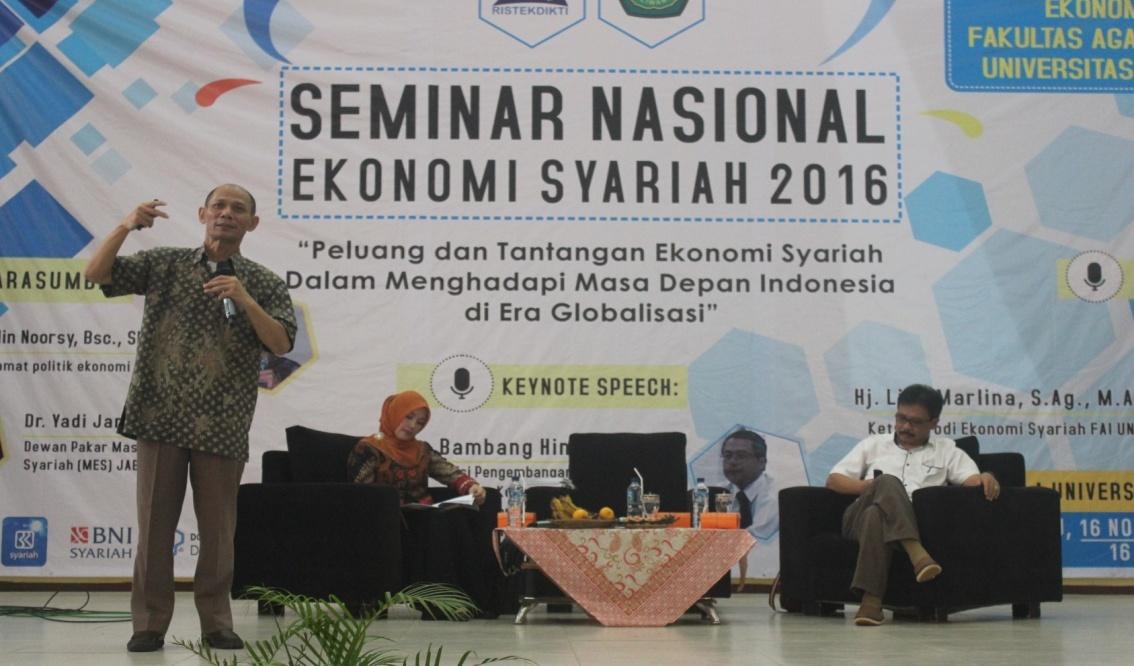Seminar Nasional Ekonomi Syariah 2016