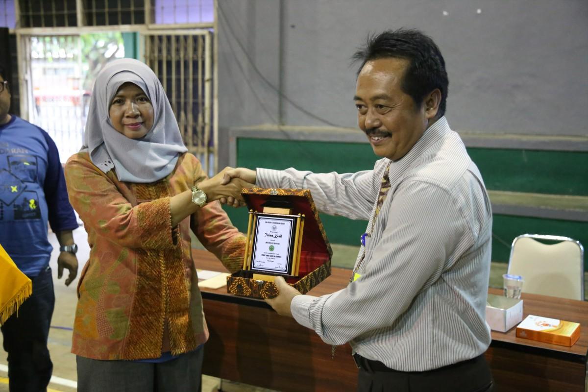 Kunjungan Siswa/i SMA Negeri 1 Cibungbulang Bogor di Universitas Siliwangi